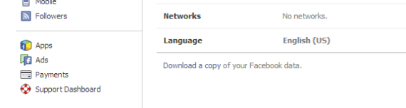 You can download your entire Facebook Profile!
